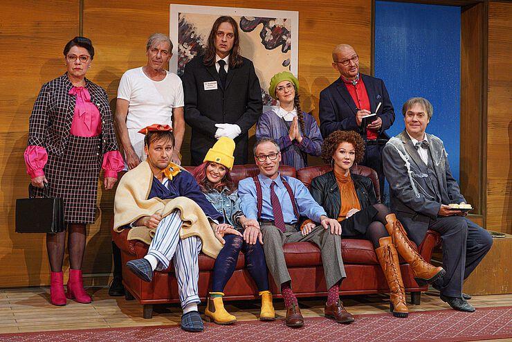 ETI Absolvent:innen am Volkstheater Bautzen