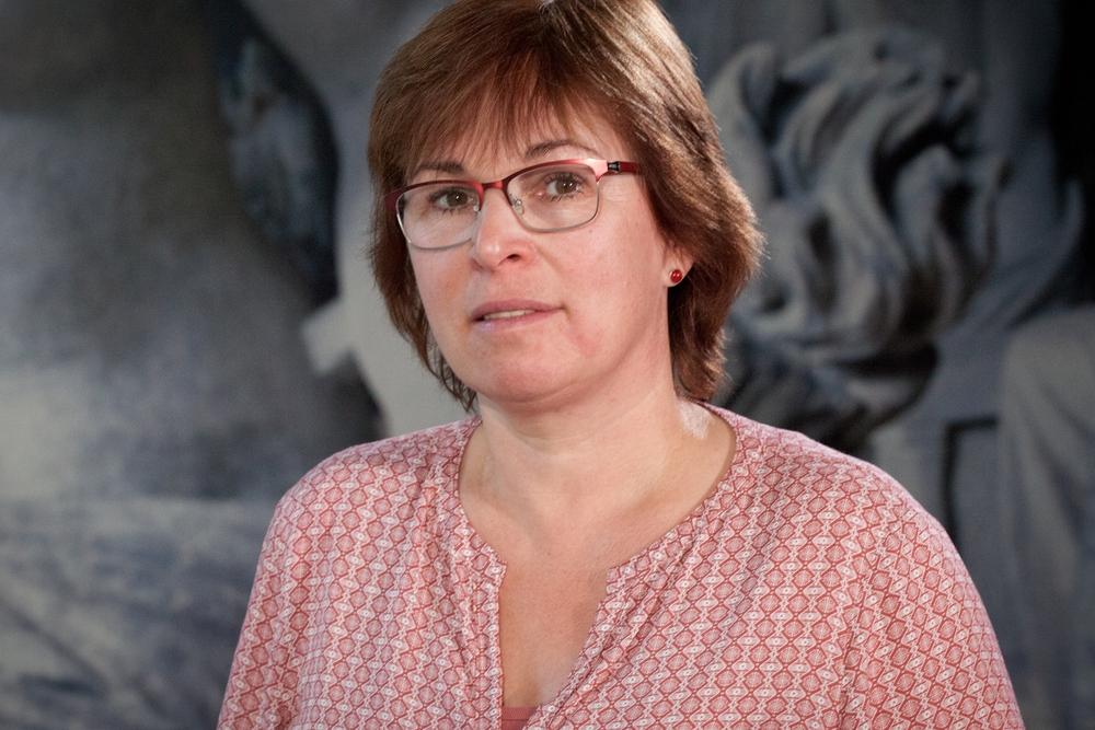Porträtfoto Brigitte Zimmermann