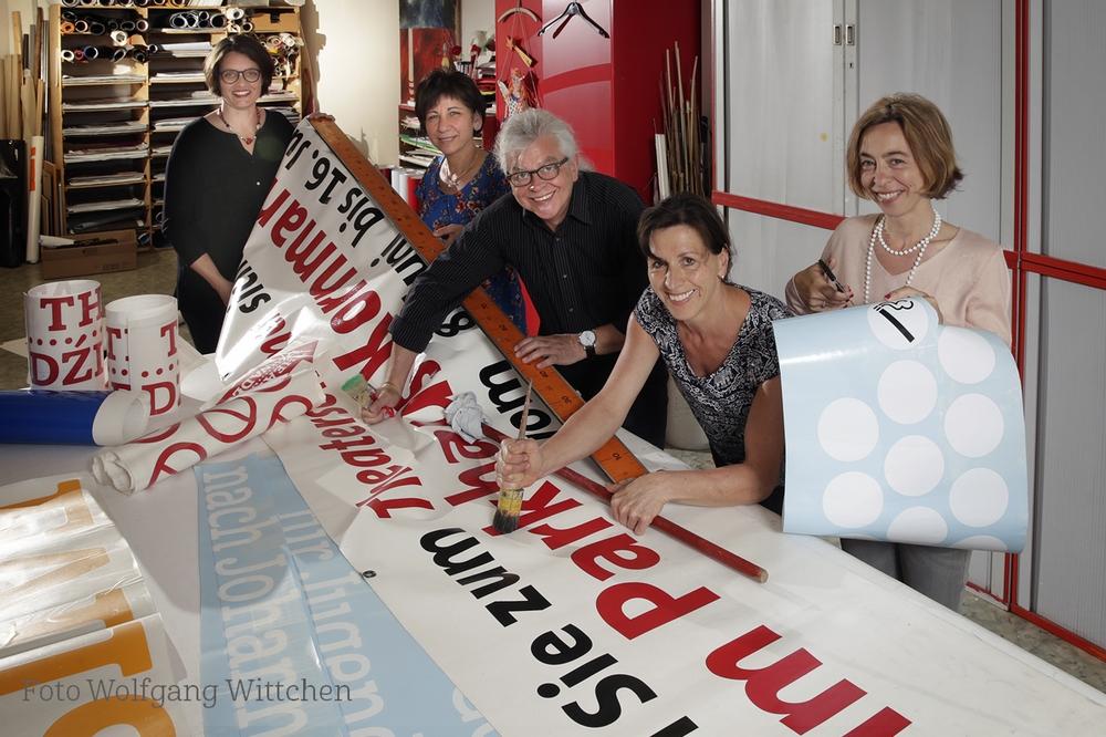 Gruppenfoto Abteilung Werbung